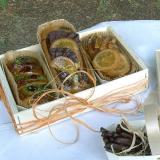 Mini-cake in cofanetto in legno