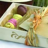 Cofanetto regalo di macaron assortiti